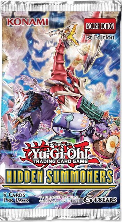 Yu Gi Oh Tcg Hidden Summoners Booster Pack