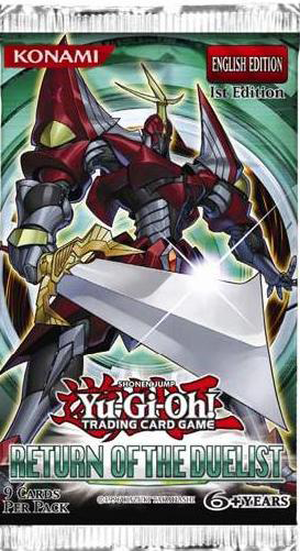Yu Gi Oh Return Of The Duelist Booster Pack