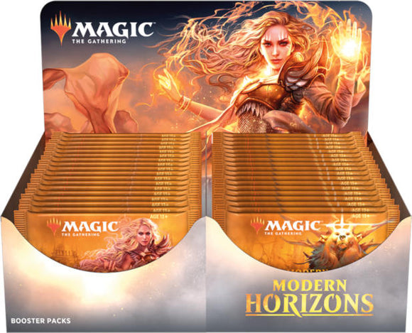 Mtg Modern Horizons Booster Box Display