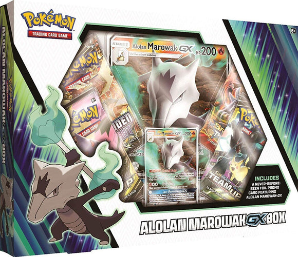 Pokemon Tcg Alolan Marowak Gx Box
