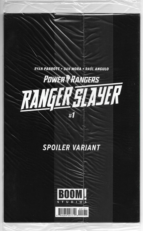Power Rangers Ranger Slayer #1 Spoiler Var