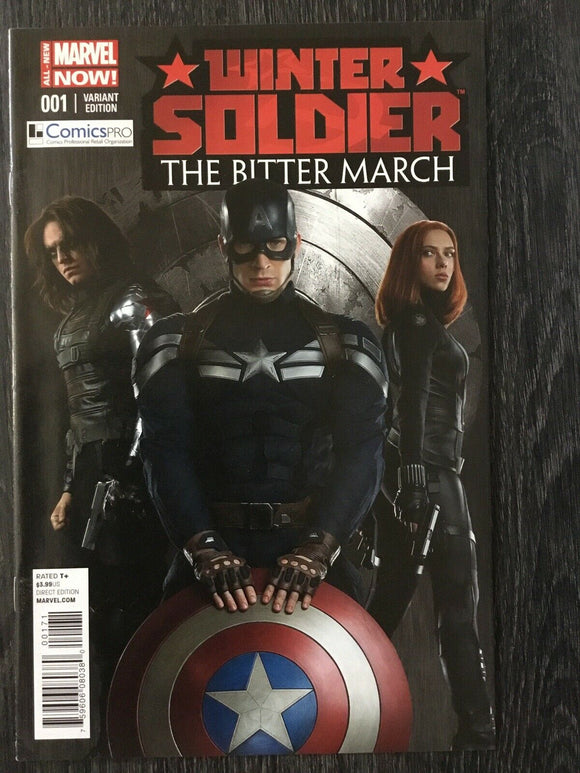 Winter Soldier Bitter March #1 Comicspro 2014 Variant