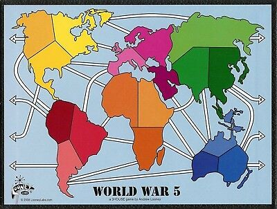 World War 5 Gameboard
