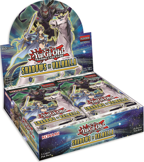 Yu Gi Oh Tcg Shadows in Valhalla Booster Dis