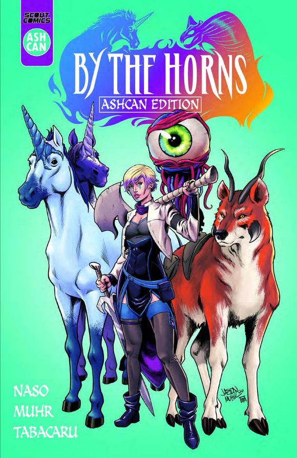 By The Horns Ashcan