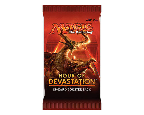 Mtg Tcg Booster Hour Of Devastation  Booster Pack