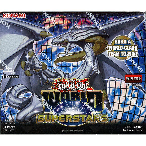 Yu Gi Oh World Superstars Booster Display