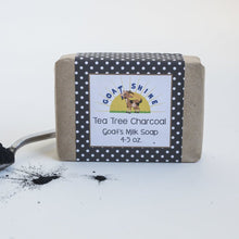 Tea Tree Charcoal Goat's Milk Soap