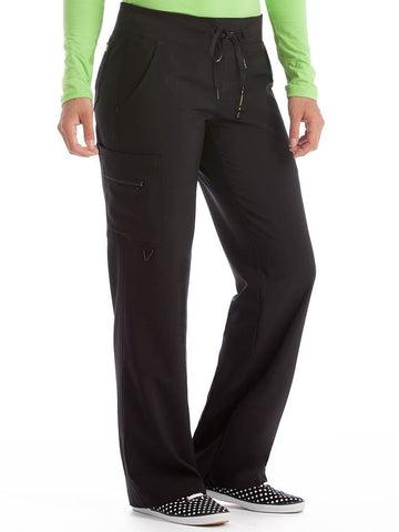 8747 YOGA 1 CARGO POCKET PANT (SIZE: XS-XL) - Bella Grace Health Scrubs
