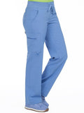 8747 YOGA 1 CARGO POCKET PANT (SIZE: 2X-3X) - Bella Grace Health Scrubs