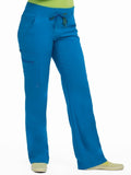 8747 YOGA 1 CARGO POCKET PANT (SIZE: XS/P-XL/P) - Bella Grace Health Scrubs