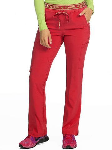 8758 YOGA 2 CARGO POCKET PANT(SIZE: XS-XL) - Bella Grace Health Scrubs