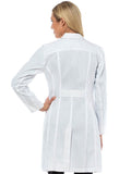 9657 TAILORED EMPIRE LONG LENGTH LAB COAT - Bella Grace Health Scrubs