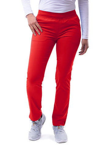 P7102 Skinny Leg Yoga Pant - Bella Grace Health Scrubs