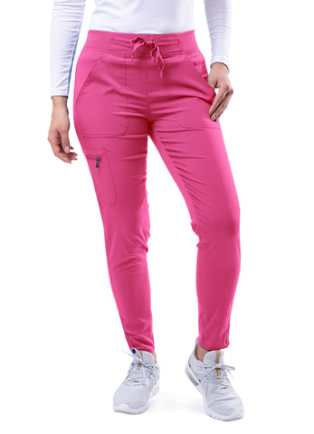 P7104 Women's Ultimate Yoga Jogger Pant - Bella Grace Health Scrubs