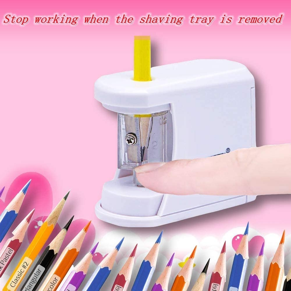 Automatically  The Children's Electric Pencil Sharpener