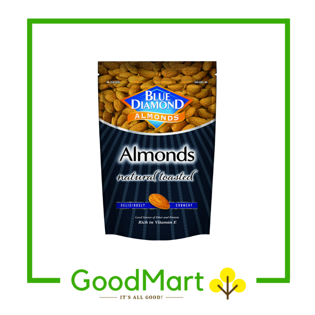 Blue Diamond Natural Toasted Almonds 150g