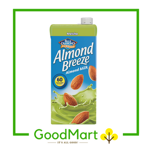 Blue Diamond Almond Breeze Almond Milk Matcha 946ML