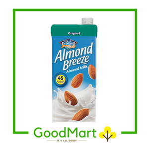 Blue Diamond Almond Breeze Almond Milk Original 946ML