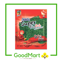 Load image into Gallery viewer, Seleco Super Big Bite Crispy Seaweed Spicy 40g