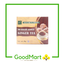 Load image into Gallery viewer, Nature's Pride Ginger Tea No Sugar Added 12x8g