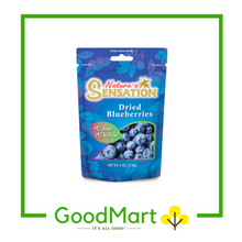 Load image into Gallery viewer, Nature's Sensation Dried Blueberries 170g