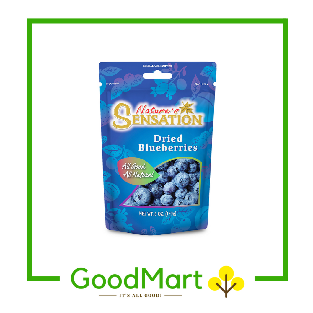 Nature's Sensation Dried Blueberries 170g