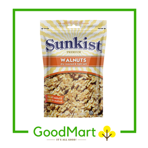 Sunkist Dry Roasted & Light Salt Walnuts 120g