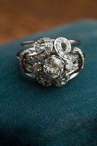 Platinum 1ct Diamond Ring