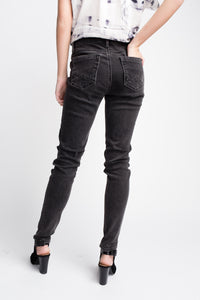 Cult of Individuality Zen Mid-rise Denim Black
