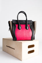 Load image into Gallery viewer, Celine Micro Python Embossed