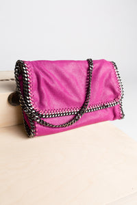 Stella McCartney Vegan Pink Clutch