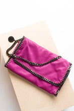 Load image into Gallery viewer, Stella McCartney Vegan Pink Clutch