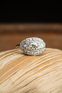 14kt Oval Setting Ring