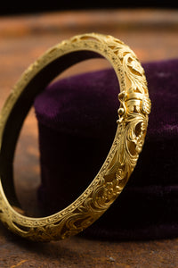 Constantino 18kt Yellow Gold Bangle