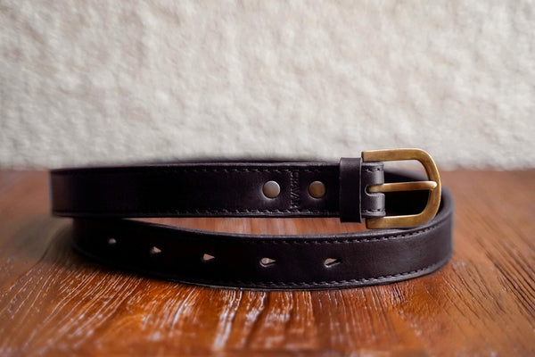 Everyday Leather Belt 30mm/Espresso