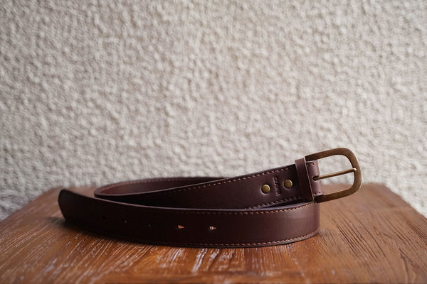 Everyday Leather Belt 40mm/Fox