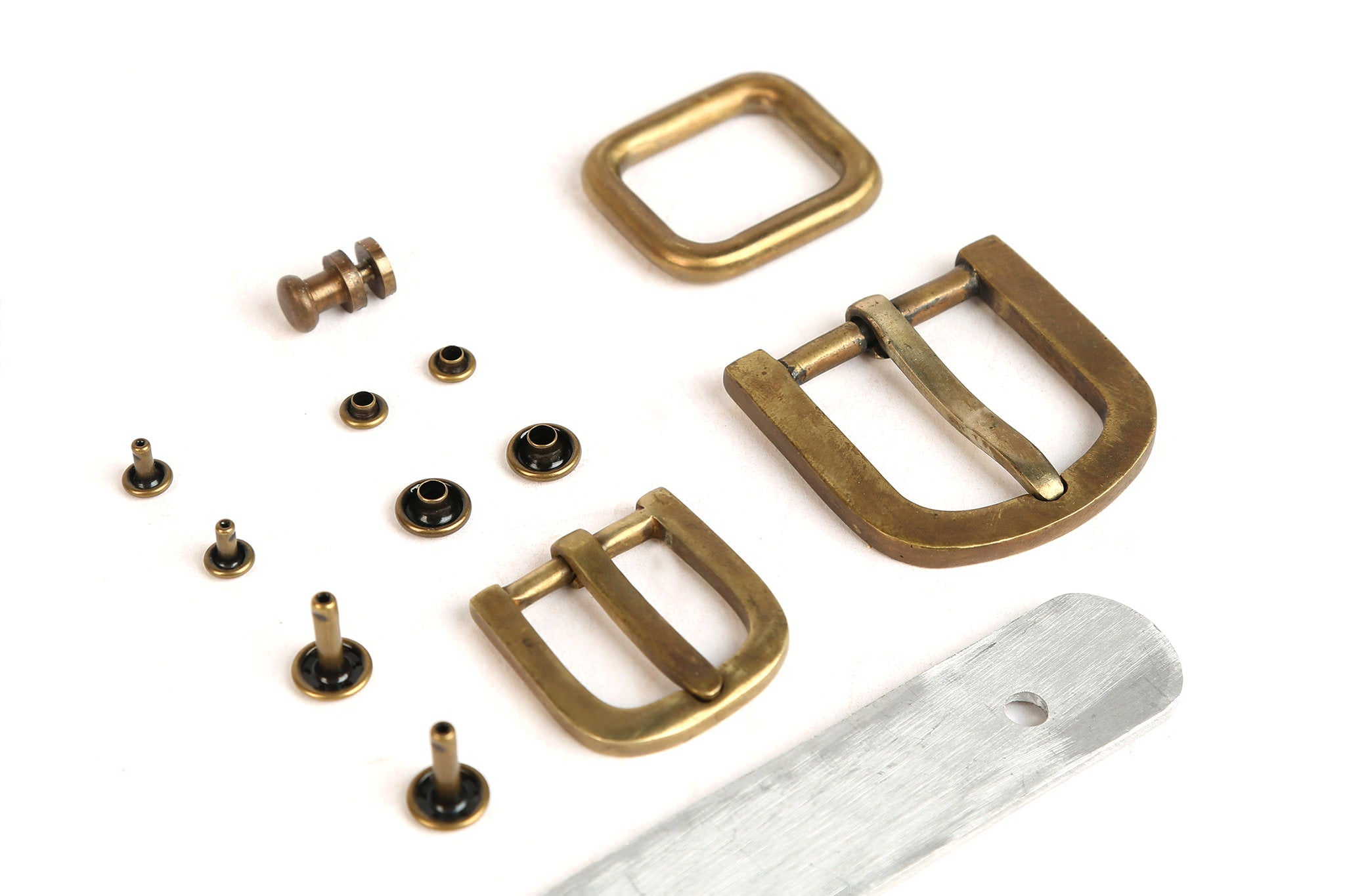 Solid brass and aluminum accessories with no moving parts,  nothing to break.
