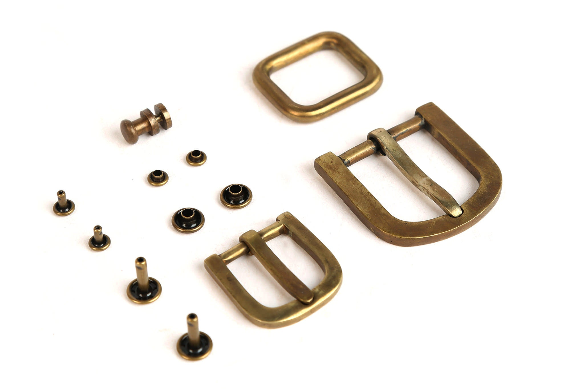 Solid brass accessories with no moving parts,  nothing to break.