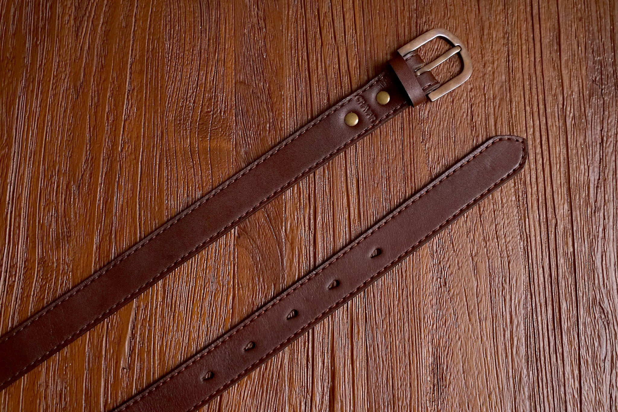 Everyday Leather Belt 30mm/Fox