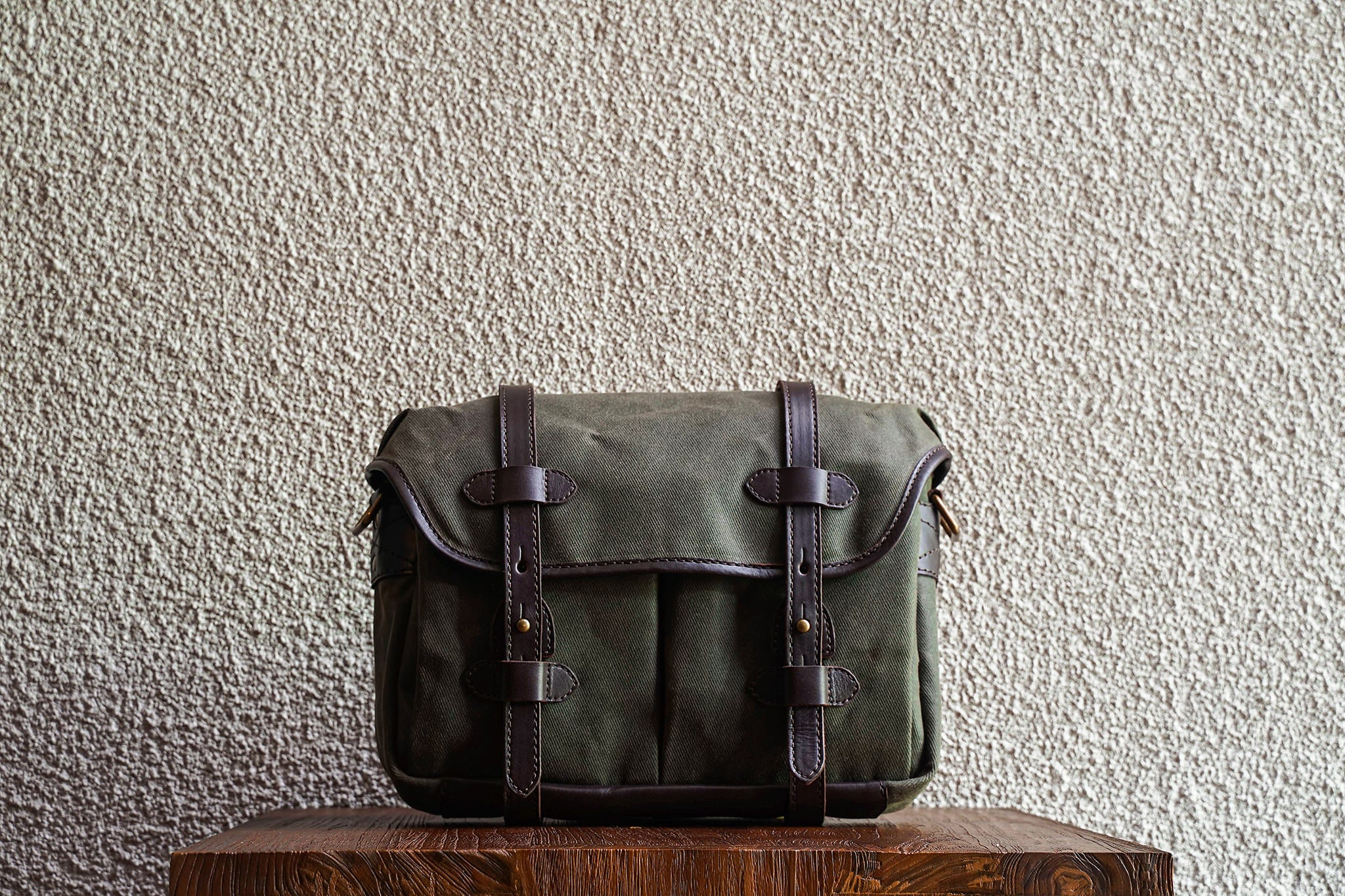 Our bags are made from as few material pieces as possible. Fewer seams makes for a stronger bag.