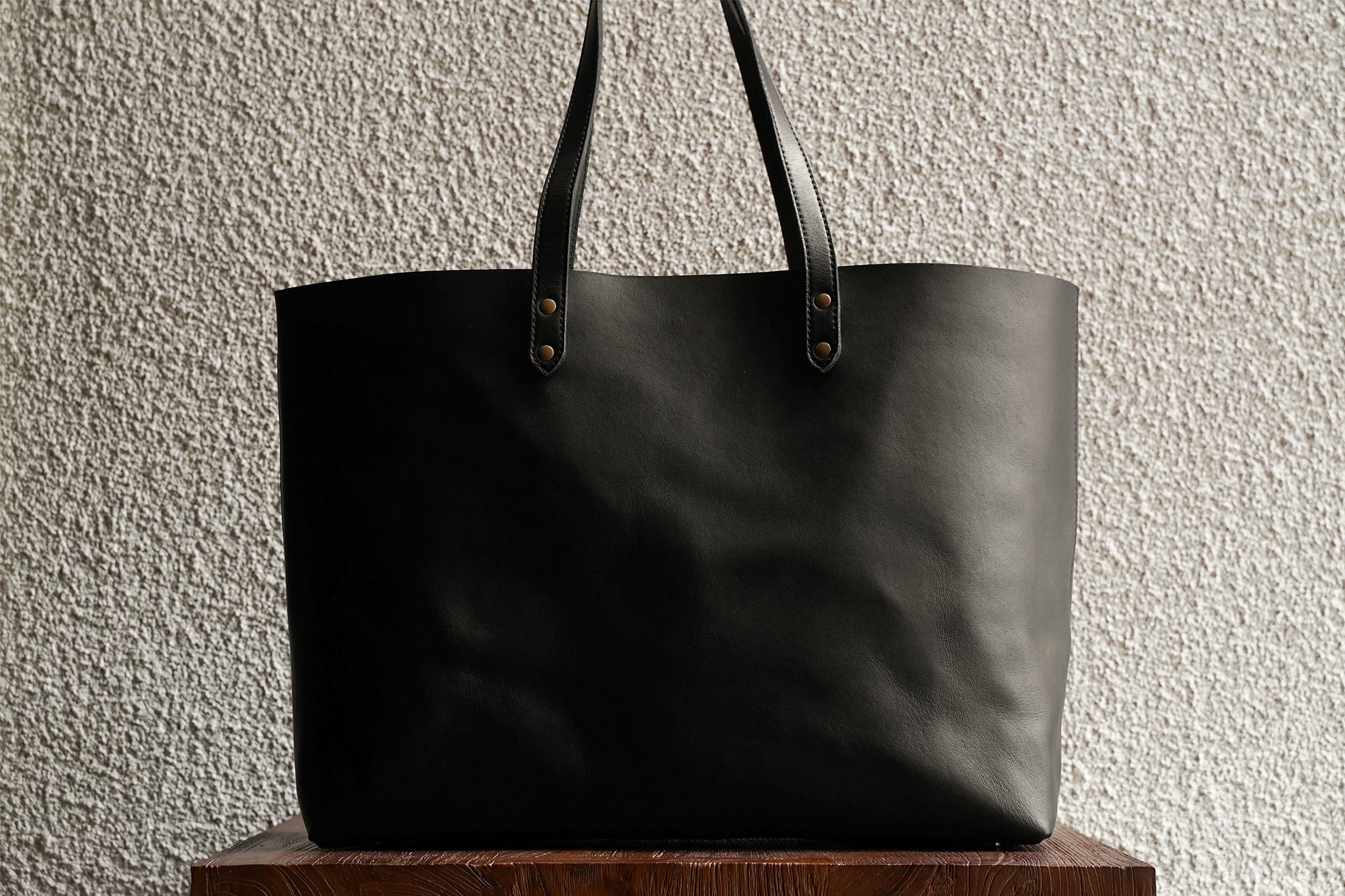 Wide Tote/Black