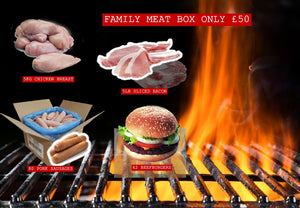 Family grill meat box
