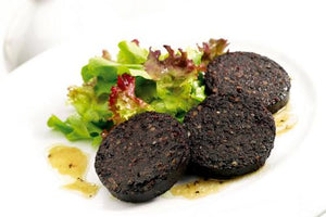 Black pudding box of 60 x 40g