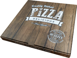 "Pizza Boxes 12"" Brown"