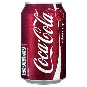 Cherry Coke Cans 330ml Tray of 24