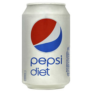 Diet Pepsi Cans 330ml tray of 24