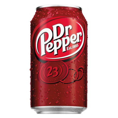 Dr Pepper Cans 330ml Tray of 24