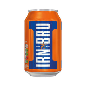 Irn Bru Cans 330ml tray of 24