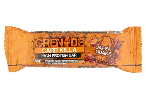 Grenade Carb Killa High Protein Bar Jaffa Quake Chocolate Orange (case of 12 x 60g)